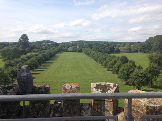 Coughton view from tower