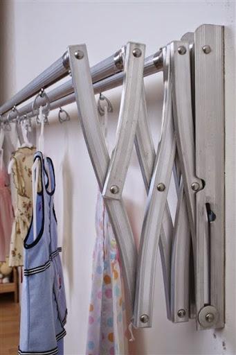 model desain gantungan atau jemuran baju minimalis terbaru