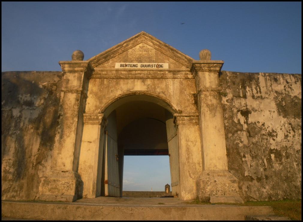 Benteng Duurstede di Saparua.