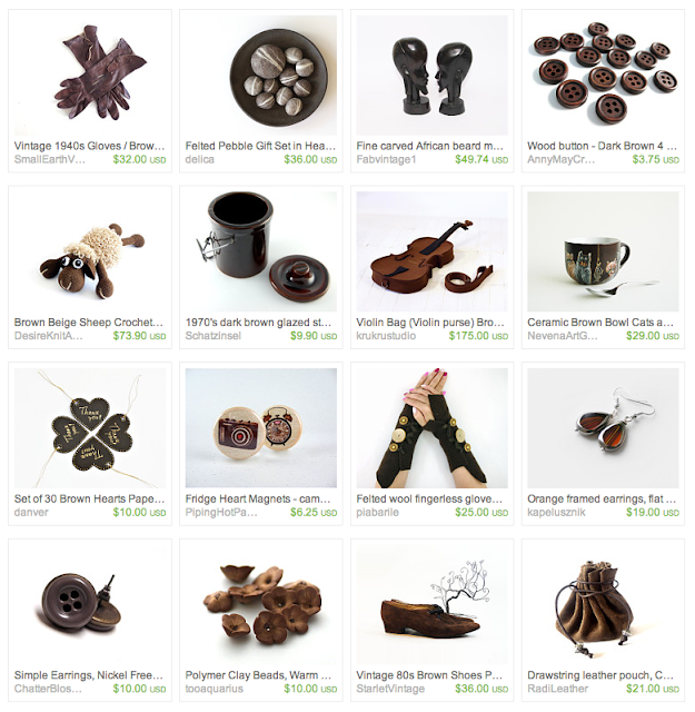 Fudge Brownie Inspired Gift Guide on Etsy #chocolate #handmade #gifts