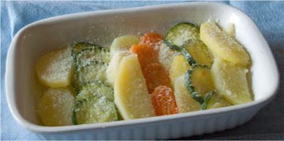 verdure gratinate al parmigiano