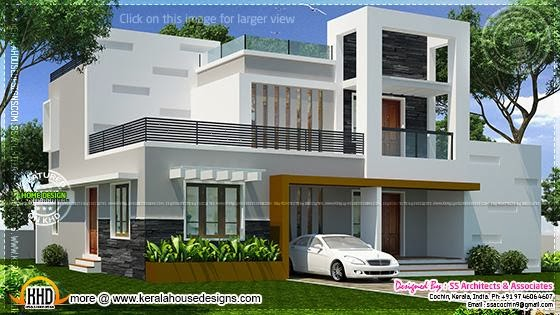 February 2014 kerala home design and floor plans for Small villa plans in kerala