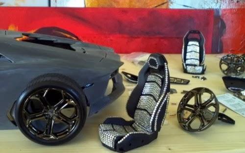 post88blog: Gold and diamonds Lamborghini the most ...
