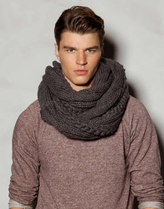 Bufandas Masculinas para este Otoño,Invierno