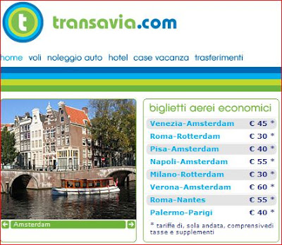 Voli per amsterdam a prezzi speciali con transavia for Offerte voli amsterdam