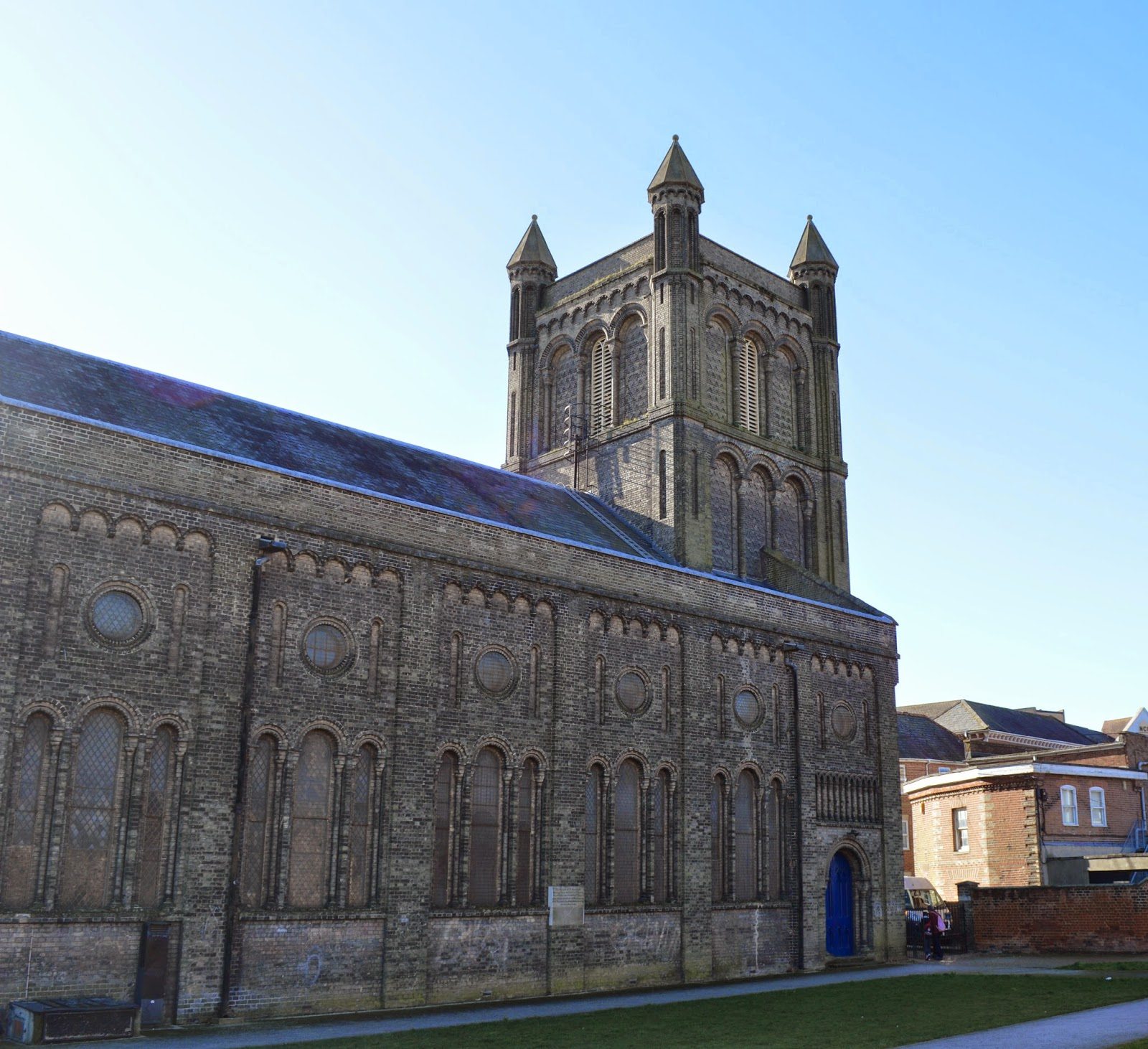 St Botolph's Church, Colchester, Augustinian priory, historical, Essex, photograph