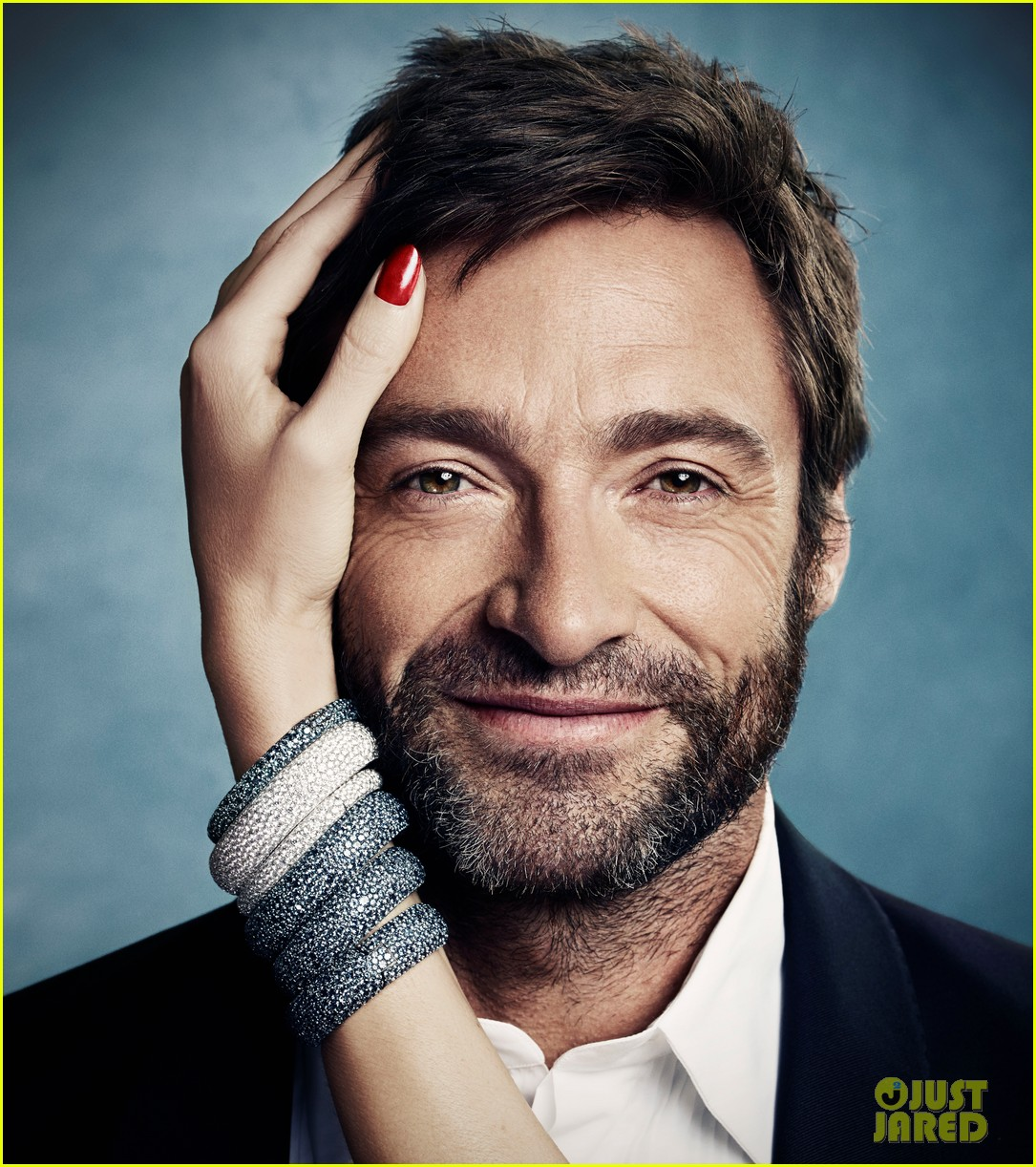 Hugh Jackman Haircut: Celeb Diary: Hugh Jackman In Town & Country (octombrie 2013