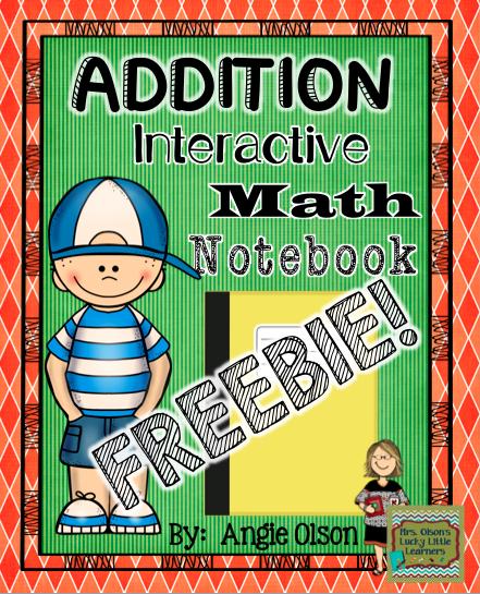 http://www.teacherspayteachers.com/Product/Addition-Interactive-Notebook-FREEBIE-1409081
