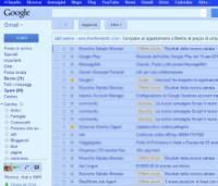 trasformare in Gmail con colore blu