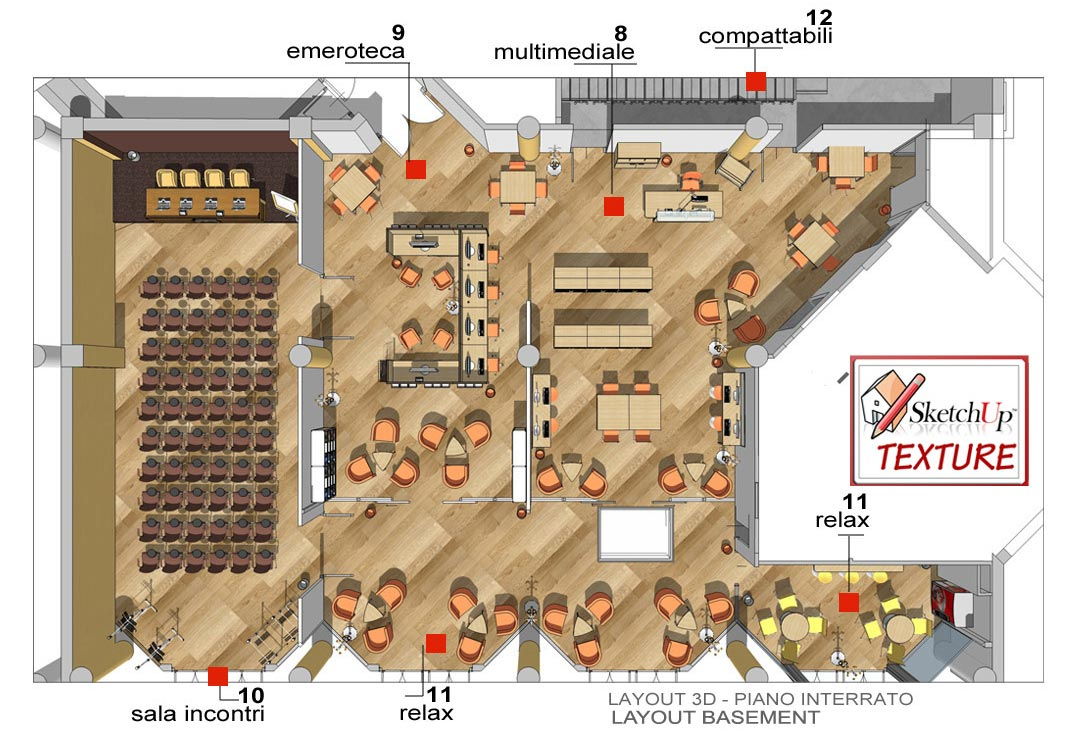 how to use scatchup for floor plan