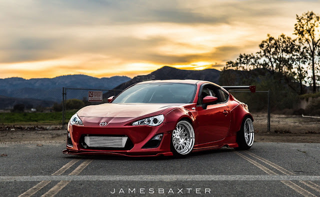 Scion FR-S, poszerzenia, body kit, widebody, gleba, tuning, camber, stance