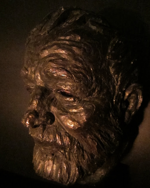 Ernest Hemingway, bronze sculpture by Thomas Holland