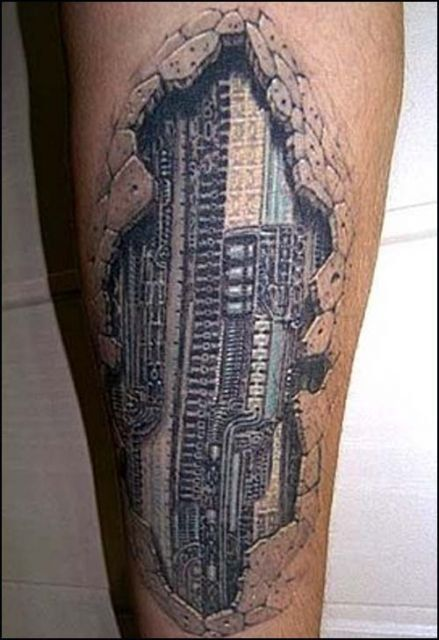 awesome+beautiful+3d+tattoo