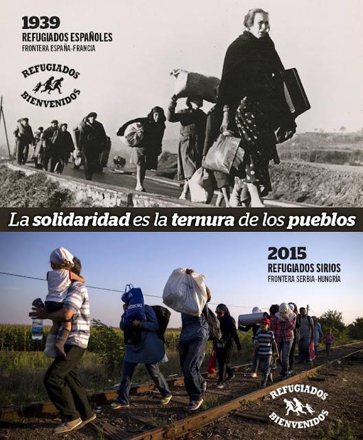 Campaña prorefugiados