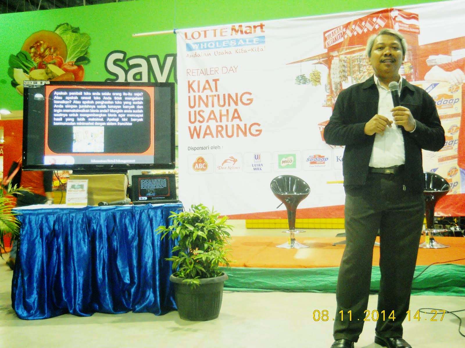 Memotivasi Seluruh Retailer Seluruh Kota Bekasi @ LotteMart Bekasi