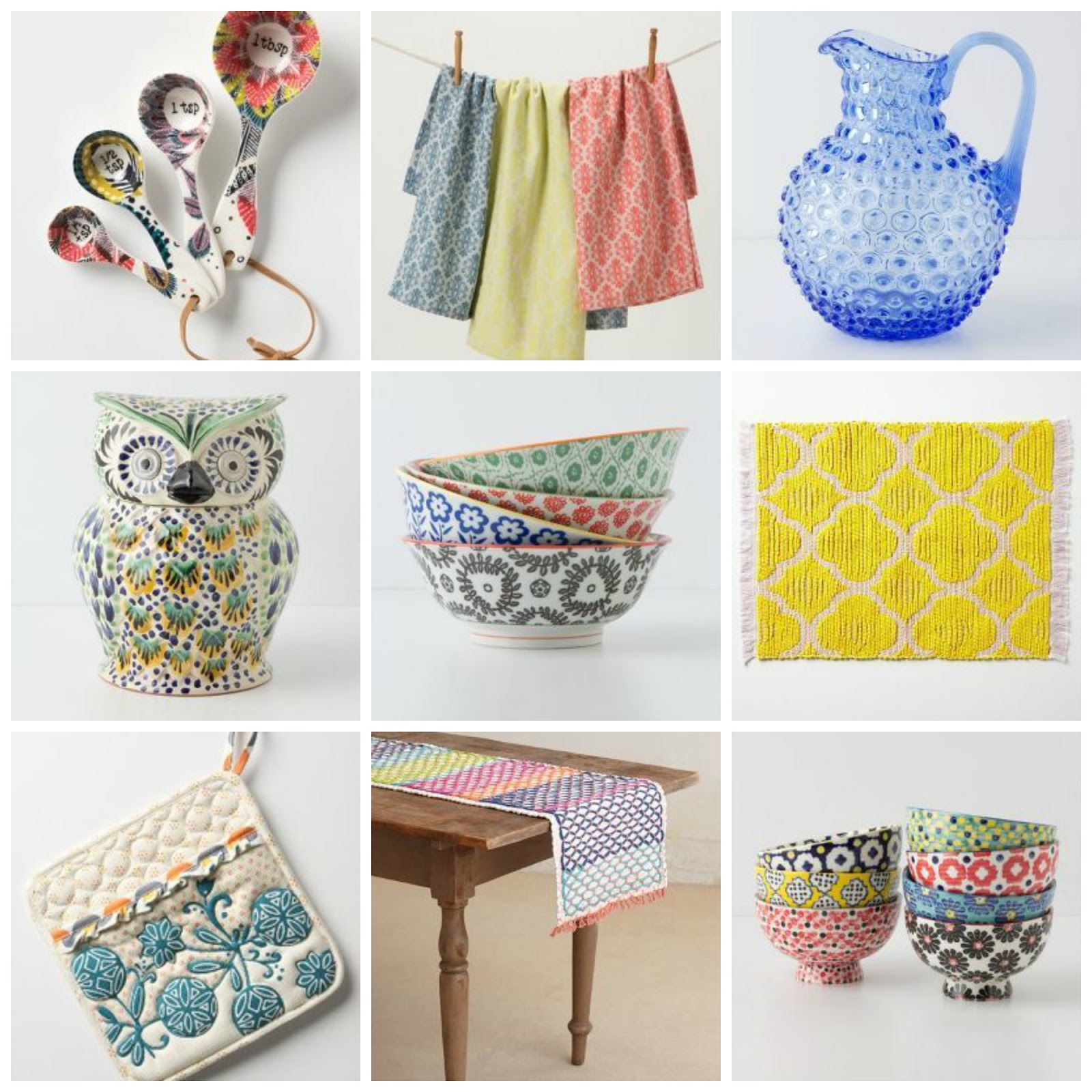 I Was Especially Smitten With Their Kitchen Products. If You Are Looking To  Add Color To Your Kitchen Or Want A Few Fun Accessories Check Out  Anthropologie.