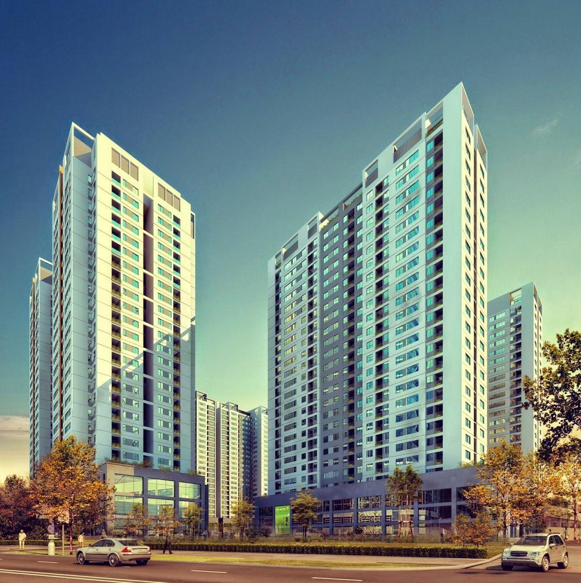HOT  Mở bán chung cư cao cấp Helios 75 Tam Trinh, Chỉ từ 1.4 tỷ