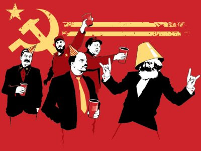 Marx was not ideologically consistent. His followers weren't even consistent with Marx.