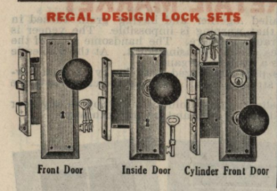 gordon van tine regal design sears chicago door hardware