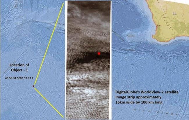 MH370: Penemuan Dua Objek Adalah Satu Permulaan ~ berita panas terkini