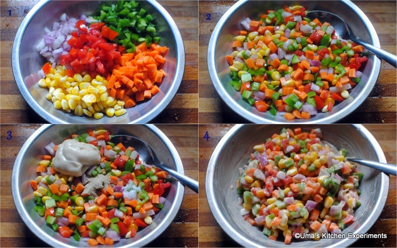 How to make creamy Corn Salad Steps