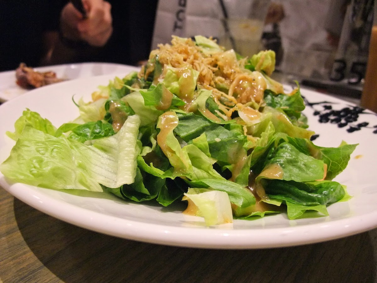 SIFU - Salad with anchovies and Japanese dressing