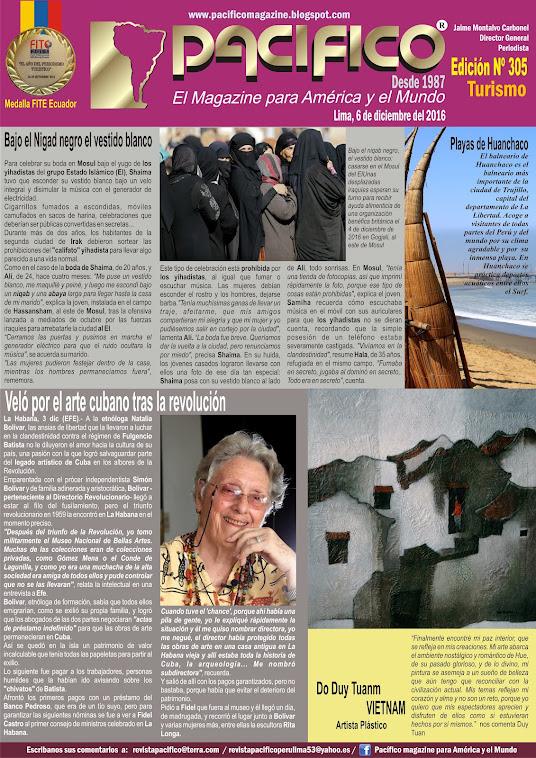 Revista Pacífico Nº 305 Turismo