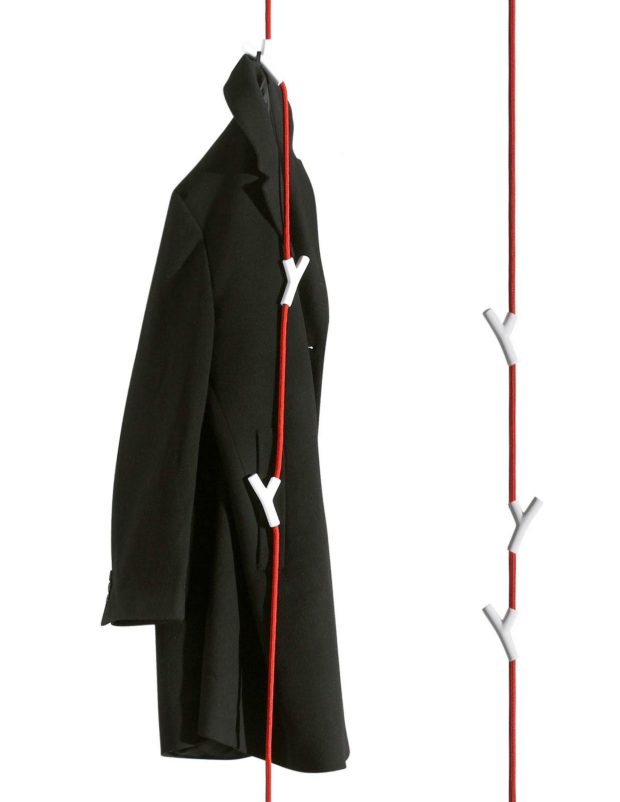 15 Creative Wall Hooks and Unusual Coat Racks - Part 4.
