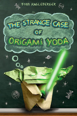 Book review, for the Origami Yoda book.  Perfect for boys from 3-6th grade. http://alohamoraopenabook.blogspot.com/
