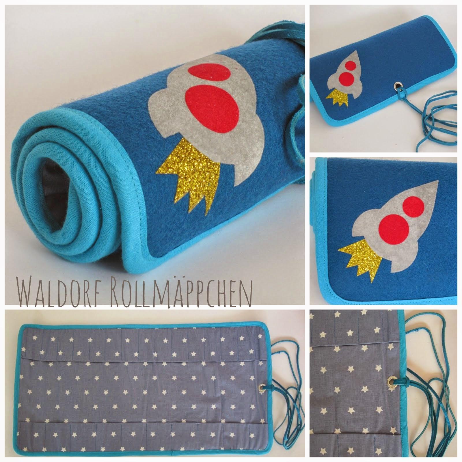 Freebook Waldorf-Rollmäppchen