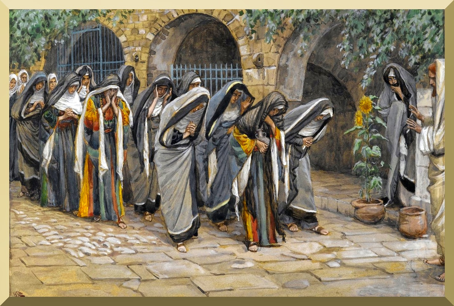 """The Holy Women"" -- by James Tissot"