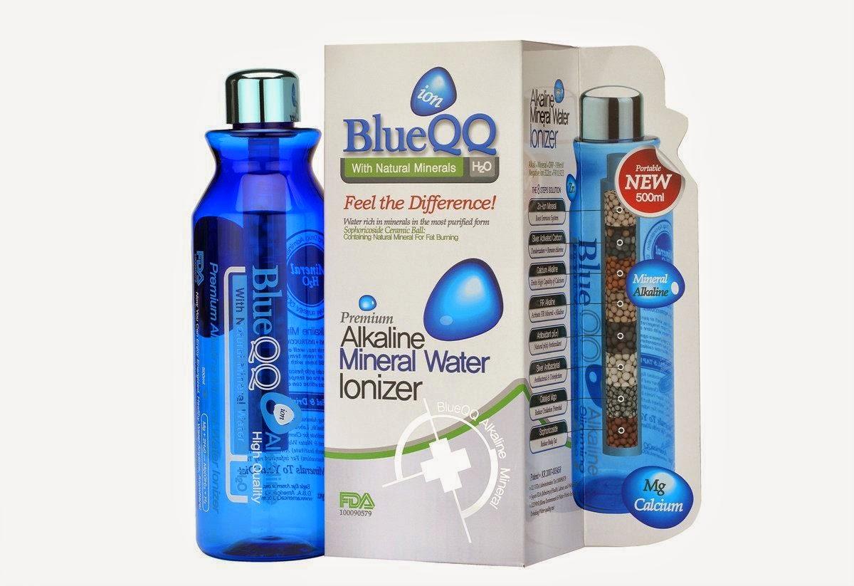 The Phenomenal Mama QQ Alkaline Water Bottle A Giveaway - Alkaline water bottle