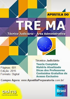 Apostila Concurso TRE MA Técnico Judiciário Área Admin