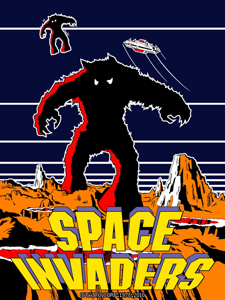 Craigarousewip nuca for Space invaders