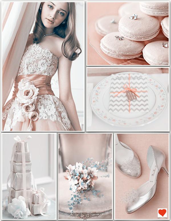 Rosa Hochzeit Design