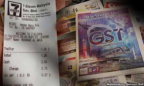 7-Eleven Mohon Maaf Caj GST Suratkhabar