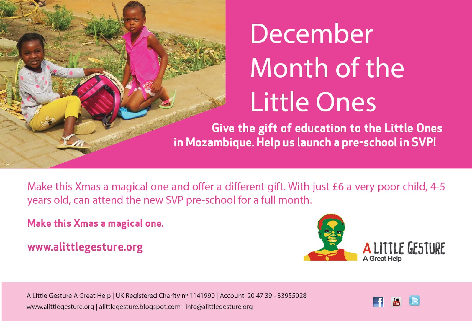 December: Month of the Little Ones!