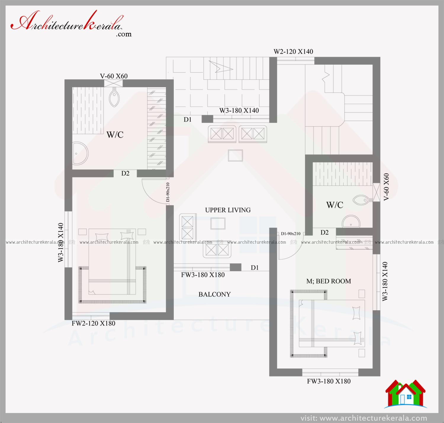 2000 sqft house in 3 5 cent plot architecture kerala for House plans and photos