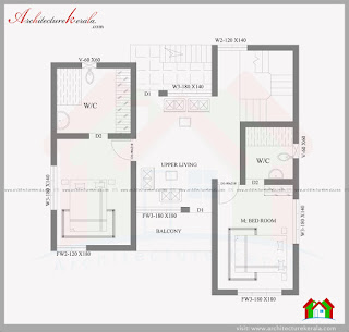 2000 sqft house in 3 5 cent plot architecture kerala for Plot plan for my house online