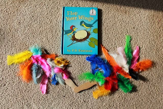 Homemade Flappable Wings for FLAP YOUR WINGS by P.D. Eastman