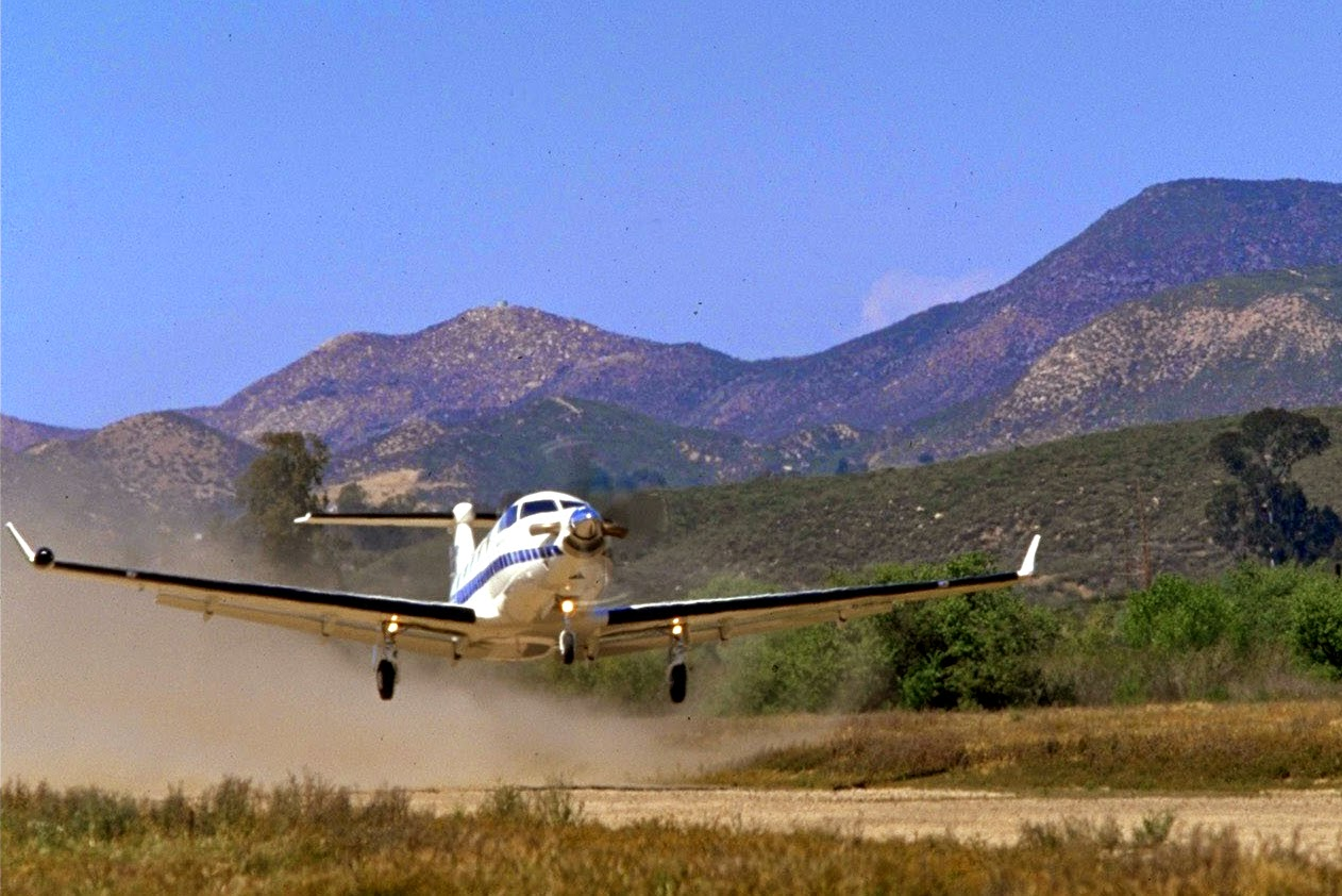 Where to fly on a private aircraft