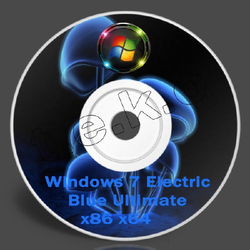Windows 7 Electric Blue Ultimate (x86) 2011 2.9 Gb.