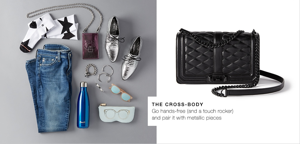 the cross-body, a touch rocker