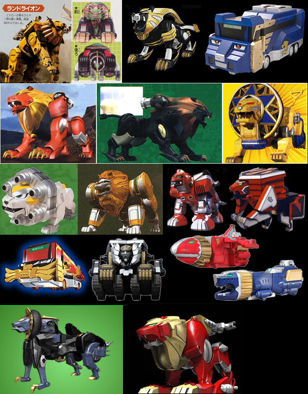 Henshin Grid: Animals in Super Sentai (2013 Edition)
