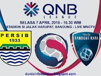 Persib vs Pelita Bandung Raya QNB League 2015
