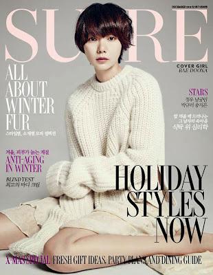 Bae Doo Na Sure Magazine December 2013