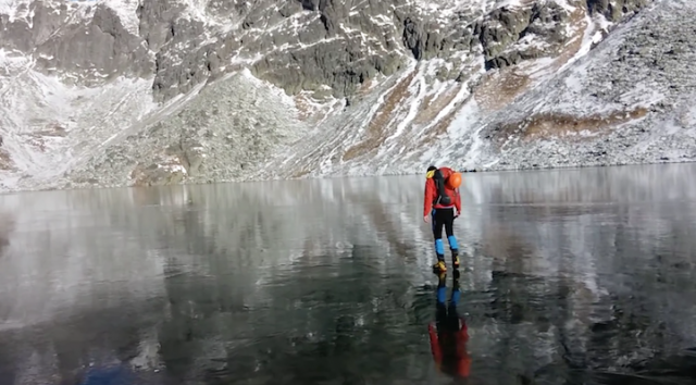 Hikers Discover A Bizarre Crystal Lake In Slovakia