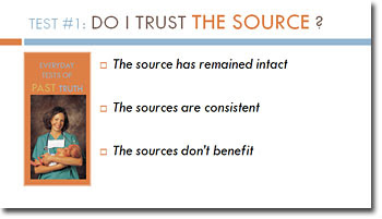 Do I trust the source?