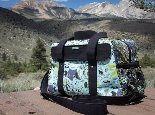 The Nappy bag Pattern by Mrs H - Sewn by Heather Freeman