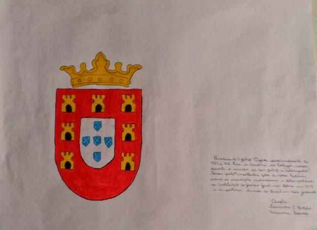 Bandeira do Domínio Real